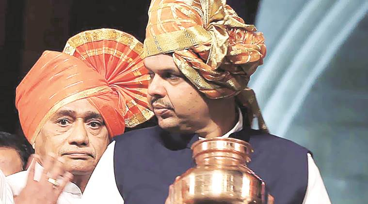 The CM with a pot of water that will be used in the jalpujan. Prashant Nadkar