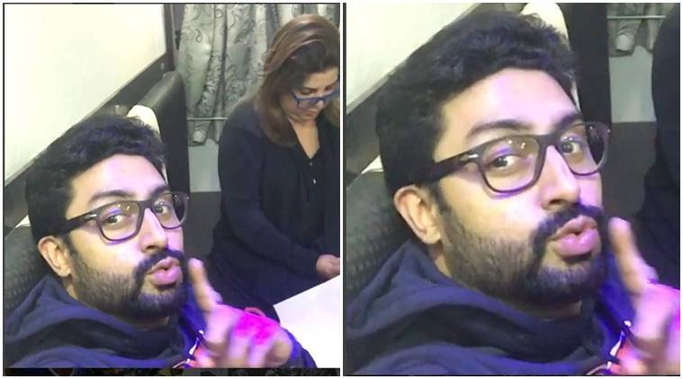 Abhishek Bachchan, Farah Khan, Farah abhishek, abhishek Farah, Abhishek Bachchan news, farah khan news, stardust awards, stardust awards news, farah khan films, entertainment news, indian express, indian express news