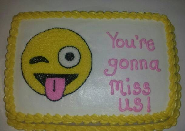 Cake Ideas For Someone Moving Away