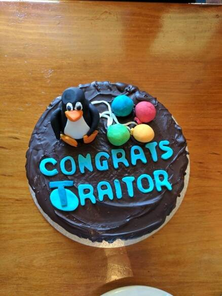 Goodbye Cake Images : PHOTOS: 10 hilarious farewell cakes that would turn sad ...