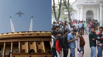 Demonetisation, Delhi pollution, I-Day, JNU protests: Best of Express photographers in 2016