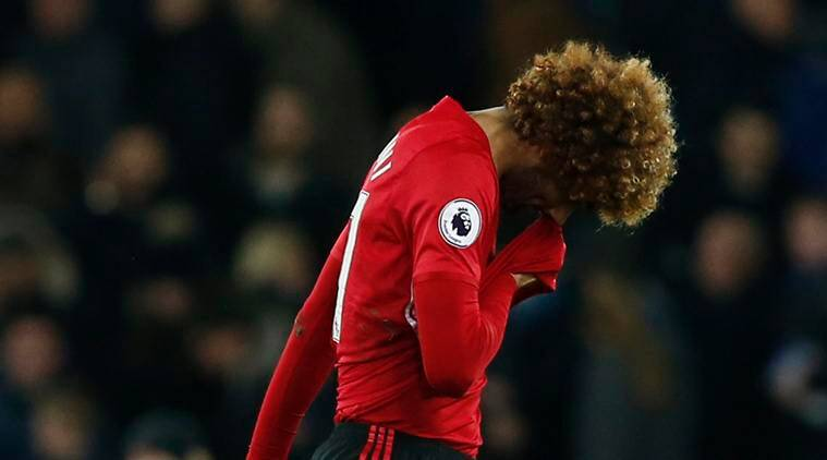 manchester united, united, Marouane fellaini, fellaini, manchester united vs everton, zlatan ibrahimovic, paul pogba, wayne rooney, jose mourinho, football news, sports news