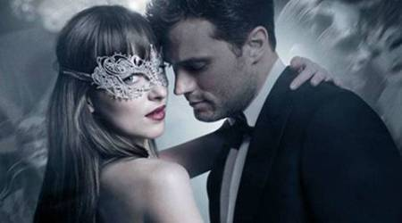 fifty shades darker, fifty shades darker trailer, fifty shades of grey sequel, fifty shades of grey cast, fifty shades darker hot scenes, e.l.james. fifty shades books, dakota johnson, jamie dornan, indian express, indian express news, entertainment news