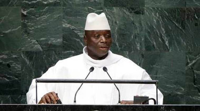 Gambia's Former President Yahya Jammeh (File Photo)