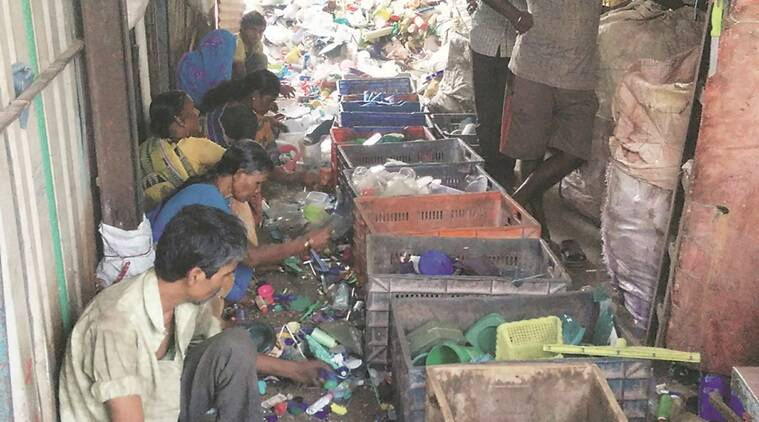 demonetisation, demonetisation effect, plastic scrap business, no money, mumbai business, mumbai garbage man, mumbai plastic scrap business, indian express news, india news, mumbai news