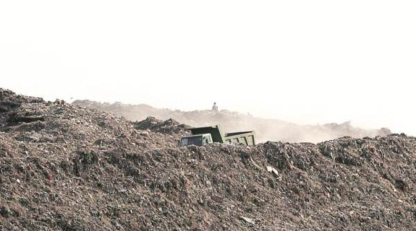Ghaziipur, landfill site, collapse at ghazipur landfill