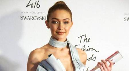 Fashion Awards 2016: Gigi Hadid bags model of the year in a stunning silver jumpsuit