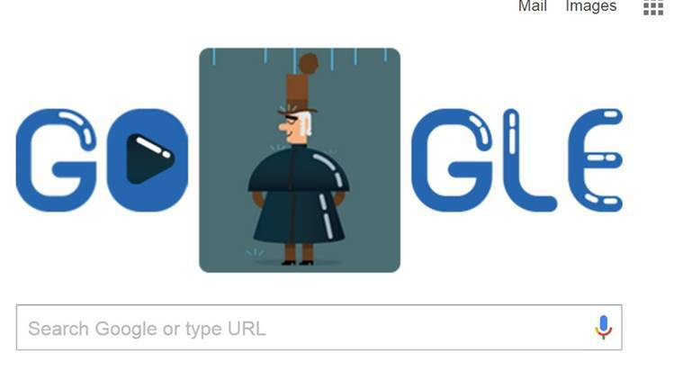 Google Doodle celebrates Charles Macintosh, inventor of the raincoat