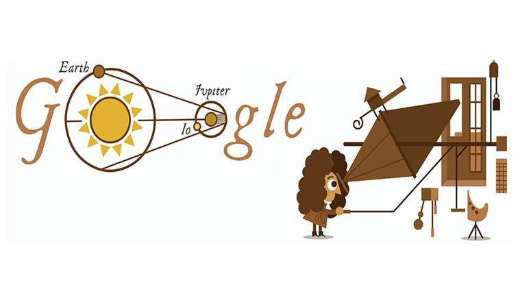 speed of light, google,, google doodle, ola roemer, ola romer, speed of light determination, determination of speed of light, who discovered speed of light, google doodle today, trending news, world news, latest news, indian express