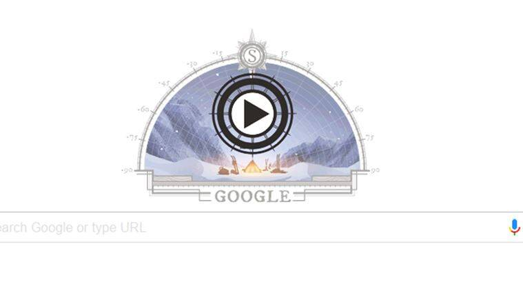 Google doodle celebrates th anniversary of first expedition to