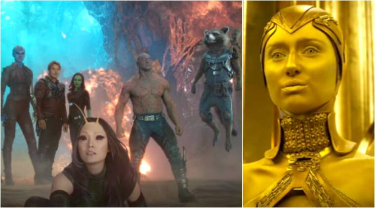 guardians of the galaxy 2 trailer first look of villain ayesha