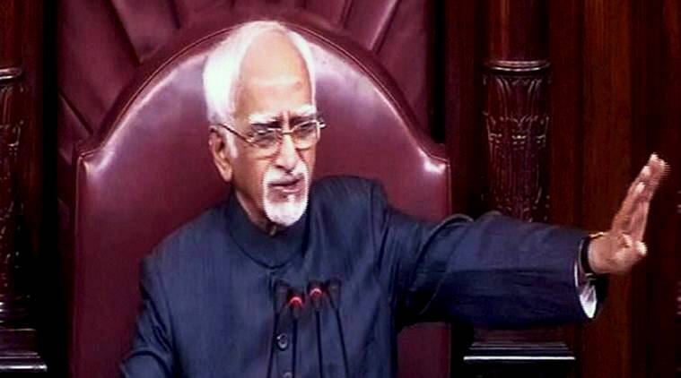 parliament, rajya sabha, demonetisation, narendra modi, PM modi, modi government, demonetisation debate, rajya sabha question hour, speaker hamid ansari, hamid ansari broker peace, MPs dinner, india news, indian express news