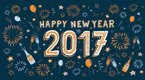 happy new year 2017 best new year sms and facebook messages to send happy new year greetings lifestyle news the indian express