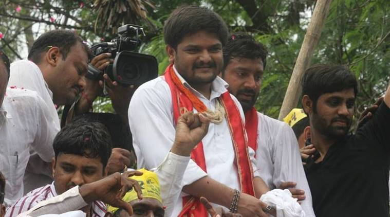 hardik patel, patidar leader, hardik patel support, surat, Patidar Anamat Andolan Samiti, PAAS, gujarat patidars, patidars reservation demand, india news, indian express news