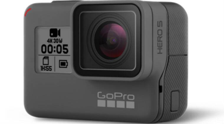 GoPro, GoPro camera, GoPro Hero 5 Black camera, GoPro Hero 5 Black specs, GoPro Hero 5 Black price, GoPro Hero 5 session, GoPro Hero 5 price in India, GoPro Hero 5 cameras India