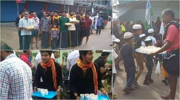 Eid Ul Milad, hindu muslims, hindu muslim unity, hindu muslim harmony, hindu muslims in kerala, Eid Ul Milad Shareef, Eid Ul Milad Shareef processions, kerala Eid Ul Milad Shareef hindus distribute sweets to muslims, indian express, indian express trending, indian express viral