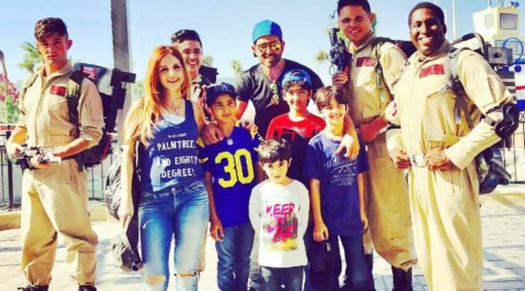 Image result for hrithik-roshan-sussanne-khan-holiday-in-dubai-with-sons