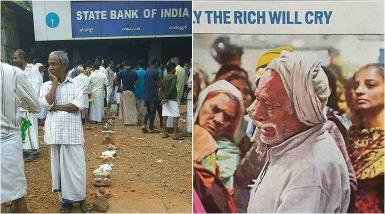 These photos are the face of demonetisation for many