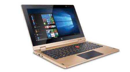 iBall CompBook i360, a 360 degree convertible laptop launched at Rs 12,999