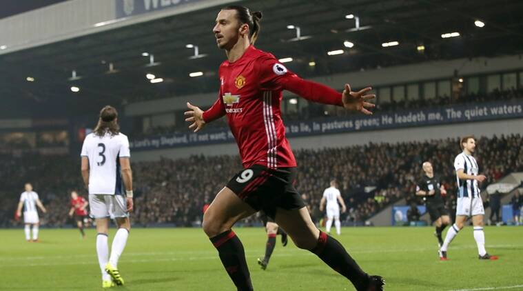 Zlatan Ibrahimovic, Ibrahimovic, Ibrahimovic goal, Manchester United vs West Brom, Man United vs West Brom, premier League, Football news, Football