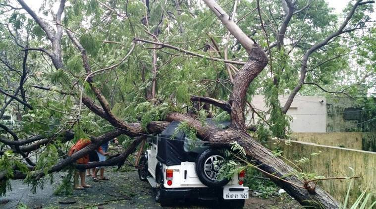 Cyclone Vardah kills 7 in southern India
