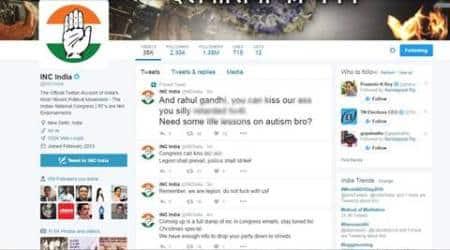 congress twitter, INC india, INC twitter account, rahul gandhi, congress hacked, congress twitter hacked, rahul gandhi hacked