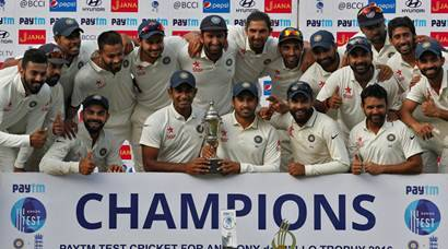 Ravindra Jadeja's seven leads India to 4-0 series win over England