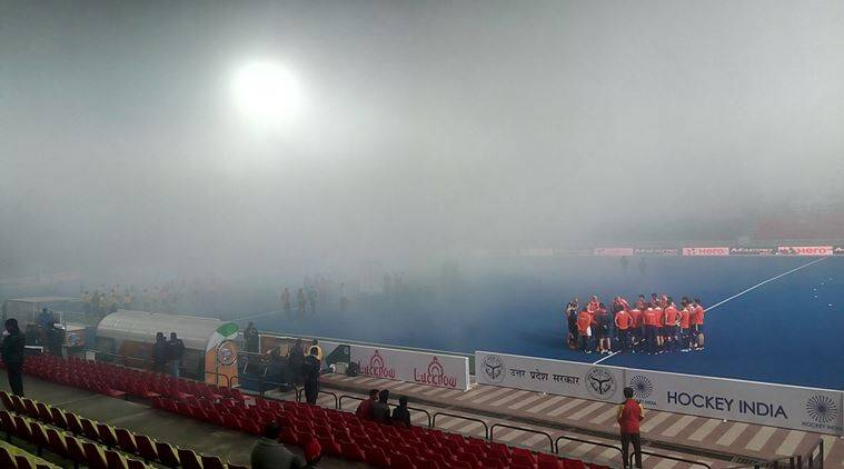 With matches, on some days, scheduled at 10am and 8pm, fog is a genuine concern (India play every match under lights). (Source: Express Photo)