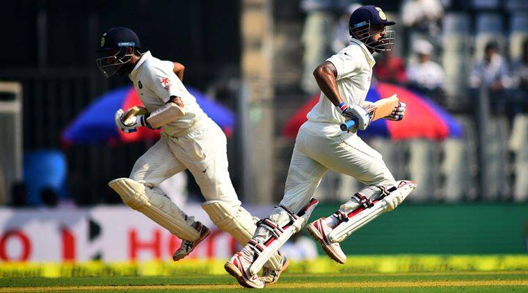India vs England, India vs England 4th Test, Ind vs Eng 4th Test Day 2, India England 4th Test Wankhede, Murali Vijay, Cheteshwar Pujara, Cricket News, Cricket