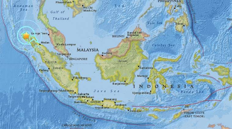 Earthquake rocks indonesias aceh province over 50 killed the indonesia indonesia quake indonesia earthquake indonesia news indonesia quake today earthquake gumiabroncs Gallery