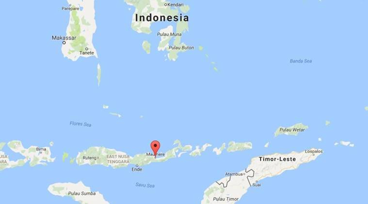 indonesia air plane crash, plane crash, air force plane crash, indonesia crash, indonesia air accident, indonesia air force, indonesia news, indian express news