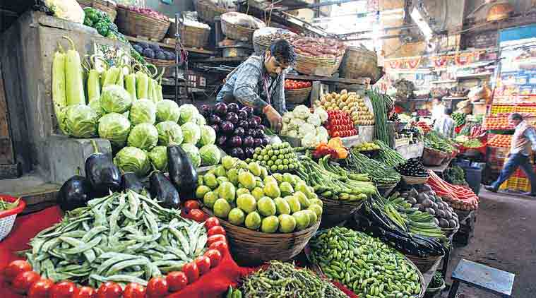 wholesale price index india, price of dal, price of sugar, price of vegetable, wholesale price-based inflation, inflation, vegetable price, commerce ministry,  rbi, reserve bank of india, latest news, national news, india news