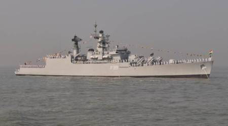 Navy warship INS Betwa undocked after 'minor' incident