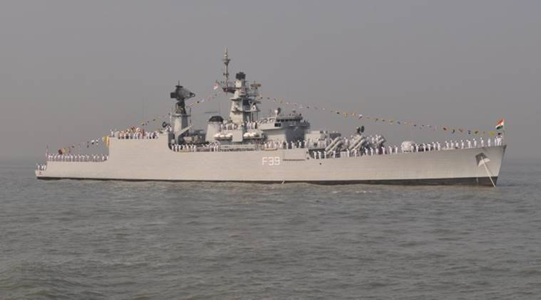 INS Betwa, INS Betwa accident, mumbai ship accident, freak ship accident, mumbai news, india news, indian express