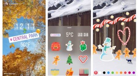 Instagram, instagram stories, instagram holiday stickers, instagram stickers, instagram boomerang, Instagram new features, instagram update, technology, technology news