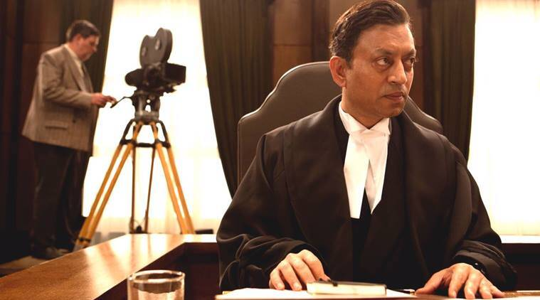 Irrfan Khan will be seen playing the role a judge from Calcutta who was invited to Japan to execute a trial case in Tokyo Trial.