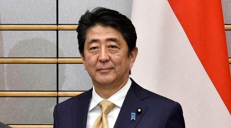 Japan defence budget, Japan cabinet, Shinzo Abe, Abe, Japan military, Japan record defence budget, Japan news, world news, latest news, indian express
