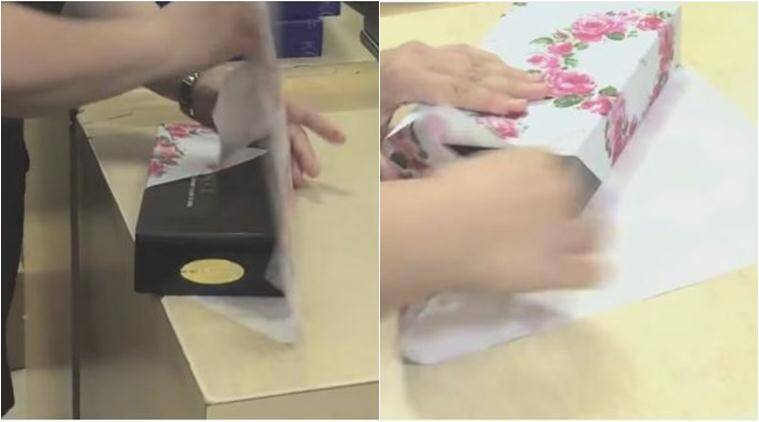 gift wrapping, diy wrapping ideas, fast gift wrapping ideas, wedding gifts, christmas gifts, japenese fast gift wrapping, fast japanese wrapping method, lifestyle news, latest news, indian express