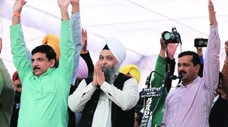 Punjab CM Parkash Singh Badal, Badal mocks Jarnal Singh, jarnal Singh journalist, P Chidambaram, Guru Nanak Dev University, Punjab SAD, Punjab elections, indian express news