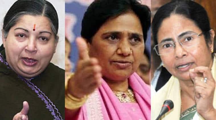 Jayalalithaa, Jayalalithaa death, Jayalalithaa passes away, Mamata Banerjee, Mayawati, Tamil nadu chief minister, Jaya, West bengal CM Mamata Banerjee, BSP, BSP Mayawati, Ama, Politics, Indian politics, indian political system, women, women politicians, women in politics, O Panneerselvam, AIADMK, DIDI, Amma, Behenji, india news, indian eapress news