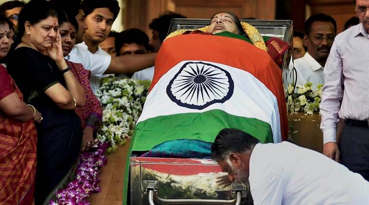 jayalalithaa, jayalalithaa death, jayalalithaa dies, jayalalithaa passes away, jayalalithaa funeral, jayalalithaa last rites, tamil nadu CM, tamil nadu news, sasikala, panneerselvam, jayalalithaa supporters death, jayalalithaa supporters suicide, india news, latest news, indian express
