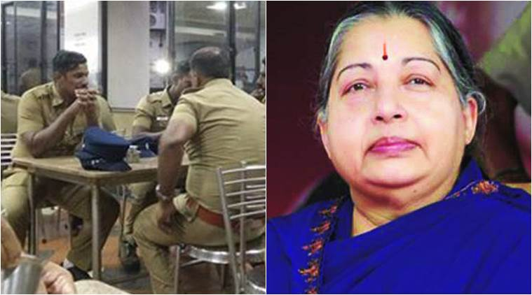 The policeman has quit his job to build a temple for his 'Amma'