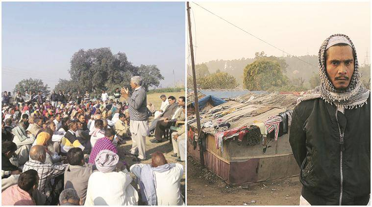 IDs for West Pak refugees (left), settlement of Rohingya Muslims have state on boil. (Express Photos by Arun Sharma)