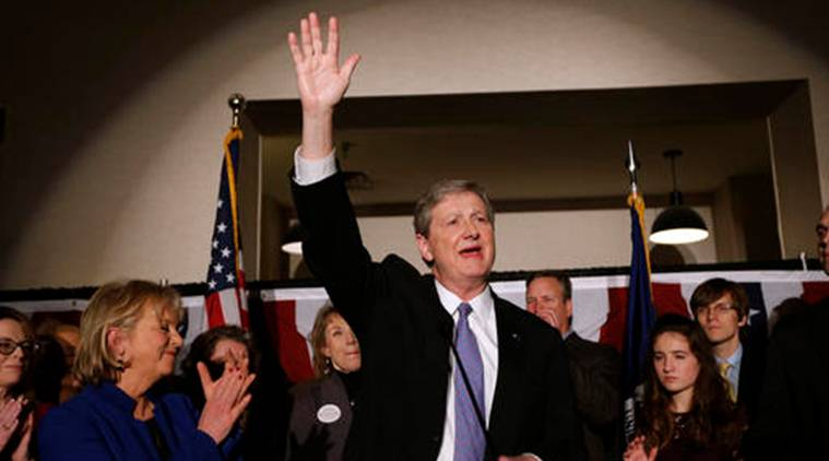 John Kennedy , republican John Kennedy , US, United States, Louisiana elections, Louisiana, Foster Campbell, US elections result, Donald trump, trump, trump cabinet, Louisiana Senate, GOP, Louisiana Senate run off, John Kennedy Louisiana , US news, world news