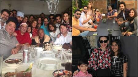 ranbir kapoor lunch, karisma kapoor lunch, ranbir karisma christmas lunch, kapoor family christmas lunch, ranbir kapoor christmas brunch, karsima kapoor christmas brunch, neetu kapoor christmas pic, ranbir neetu christmas, kapoor family christmas, christmas bollywood, bollywood christmas celebrations, bollywood christmas 2016, ranbir kapoor karisma christmas, bollywood news, christmas pictures bollywood, entertainment updates, indian express, indian express news