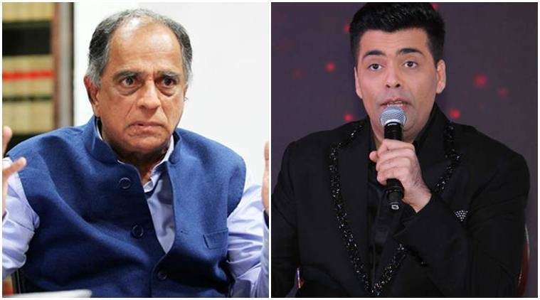 Pahlaj Nihalani, ok jaanu, ok jaanu film, ok jaanu movie, karan johar, Pahlaj Nihalani karan johar, karan johar ok jaanu, cbfc, cbfc befikre cut, cbfc ok jaanu, ok jaanu cbfc, Pahlaj Nihalani news, Pahlaj Nihalani cbfc, censor board, karan Pahlaj Nihalani, entertainment news, indian express, indian express news