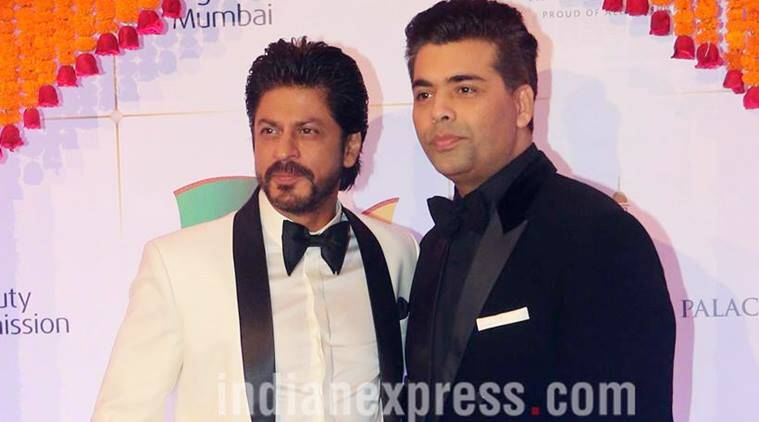 Filmfare Awards 2017, Shah Rukh Khan, Karan Johar, shah rukh khan Filmfare Awards, karan johar Filmfare Awards 2017, shahrukh Filmfare Awards, karan srk Filmfare Awards 2017, alia bhat filmfare awards, Filmfare Awards 2017 news, shah rukh khan news, karan johar news, bollywood news, bollywood updates, entertainment news, indian express news, indian express
