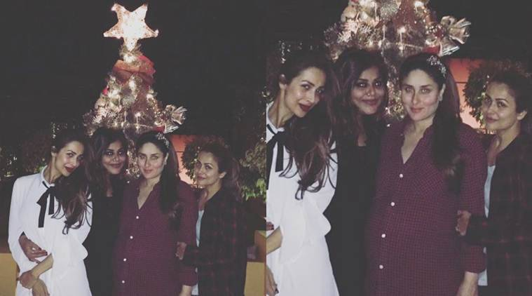 Kareena Kapoor Khan, Kareena Kapoor Khan recent pic, Kareena Kapoor, Kareena Kapoor Christmas, Amrita arora, Malaika Arora Khan
