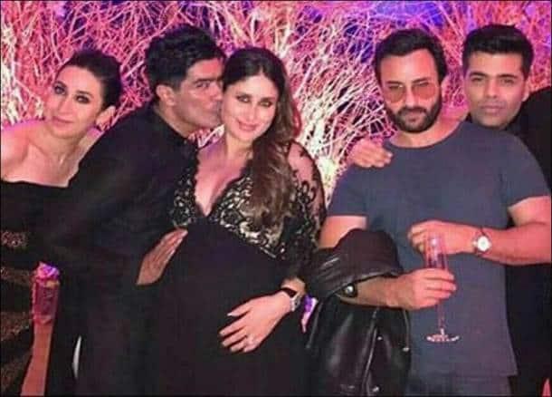 Manish Malhotra, Kareena Kapoor Khan, karan johar, Saif Ali khan, Karisma Kapoor
