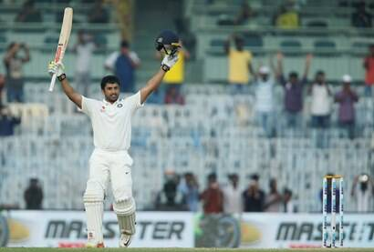India vs England: Karun Nair turns run machine in Chennai